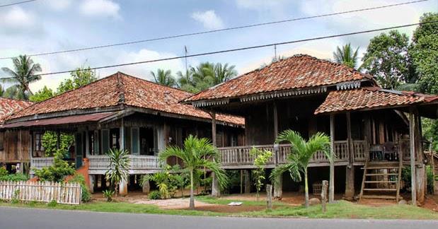 Rumah Adat Lampung Nama Gambar Penjelasannya Tradisional Mewarnai