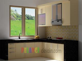 Dapur Kotor Keberadaan Bersih Pantry Dan