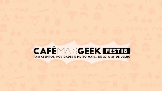 Primeiro ano do Café Mais Geek