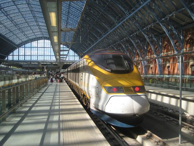 Como andar de trem em Londres