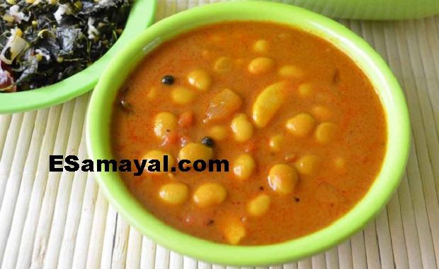 சோயா மொச்சை கிரேவி செய்முறை | Soy Bean Gravy Recipe !