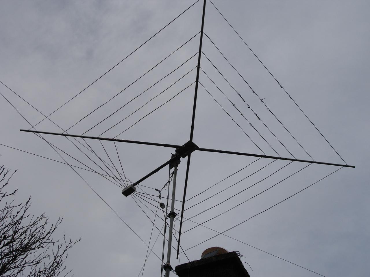 The Morse Sagas: Cobweb Antennas