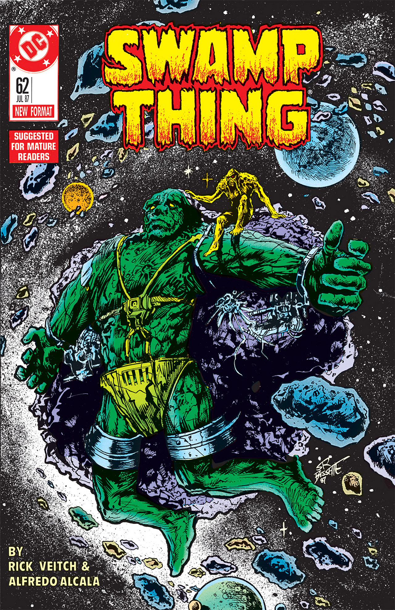 Swamp Thing (1982) Issue #62 #70 - English 1