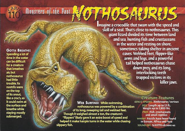 Nothosaurus monster mengerikan yang pernah hidup dan ditemukan
