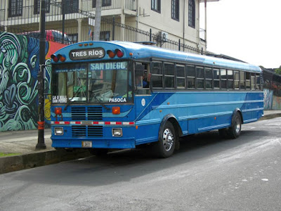 Autobus en Costa Rica