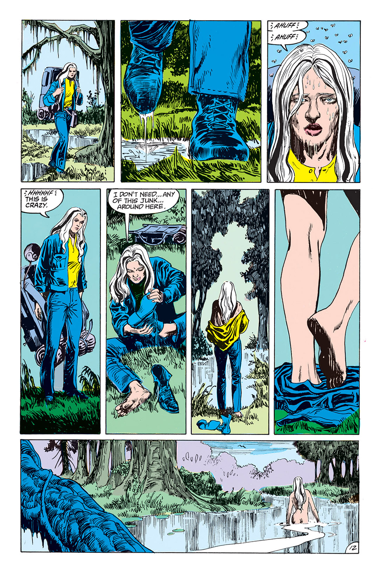 Swamp Thing (1982) Issue #69 #77 - English 9