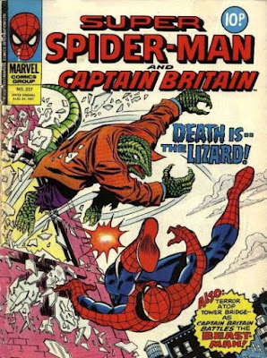 Super Spider-Man and Captain Britain  #237, the Lizard