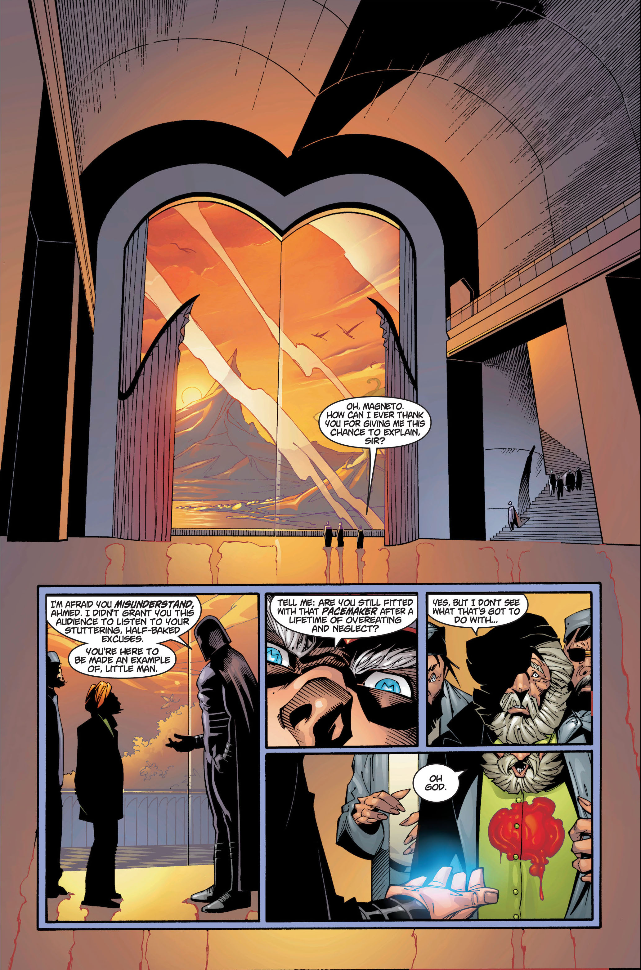 Read online Ultimate X-Men comic -  Issue #1 - 34