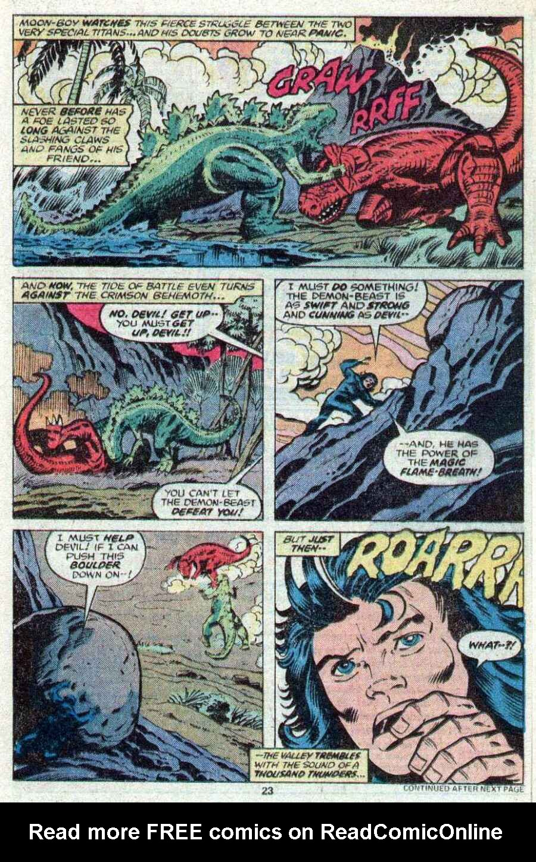 Godzilla (1977) Issue #21 #21 - English 15