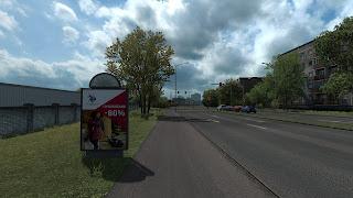 ets 2 real advertisements v1.3 screenshots, latvia 2