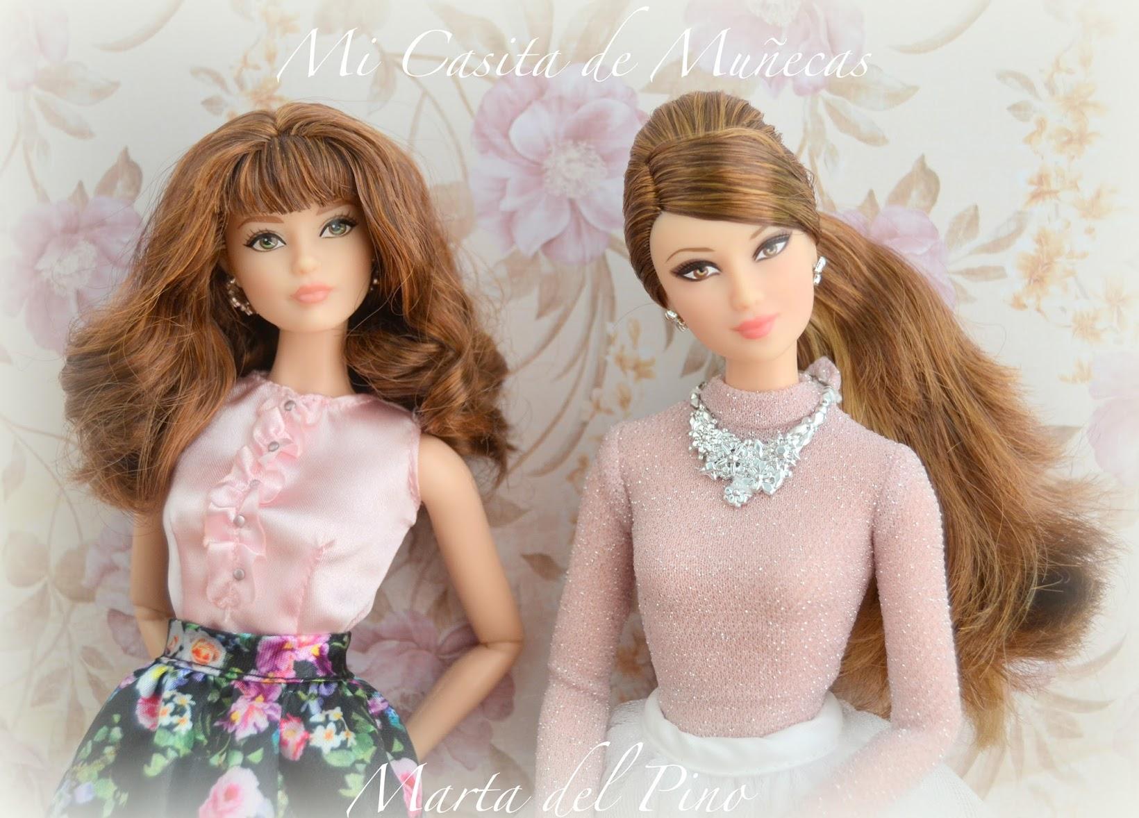 Barbie Look 2016, Sweet Tea, Perfect Party, facial sculpt Karl Lagerfeld Lea, molde de cara, pivotal, Mi casita de muñecas, Marta del Pino