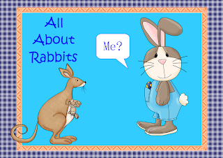 FREEBIE All About Rabbits Task Cards