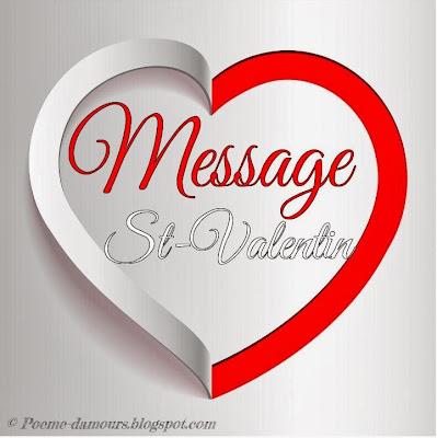 La Saint-Valentin, messages et textes pour cartes de vœux et la fête des amoureux