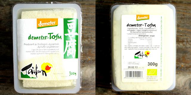 Oppskrift Hjemmelaget Tofu Demeter Taifun Vegetabilsk Protein Sunt