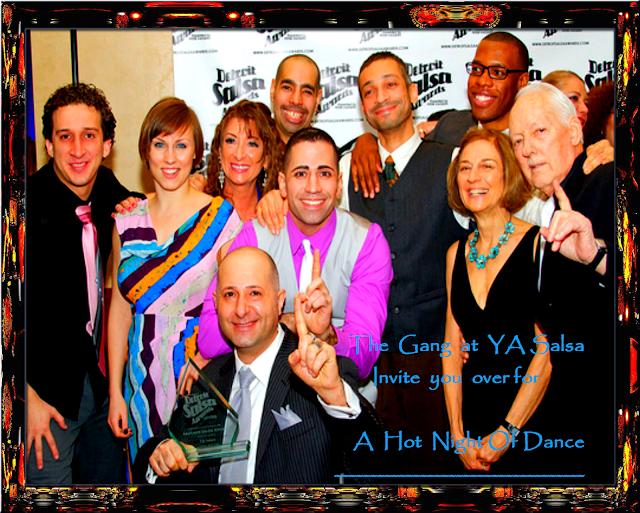Midwest Music Dance - YA Salsa Team -