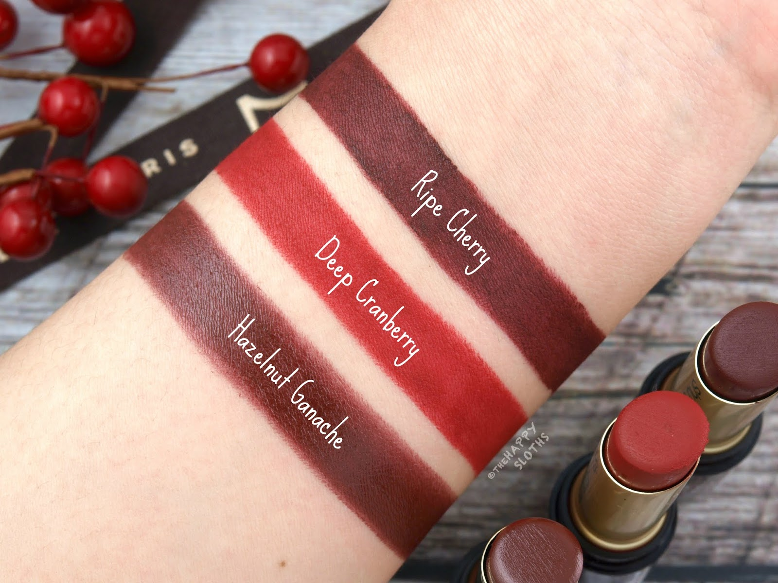 Shu Uemura | Holiday 2018 La Maison du Chocolat Collection | Rouge Unlimited Supreme Matte Lipstick: Review and Swatches
