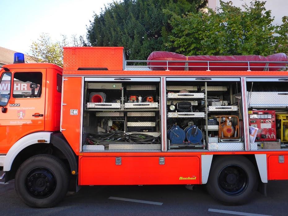 Пожарная машина, лодка, кабеля, тросы