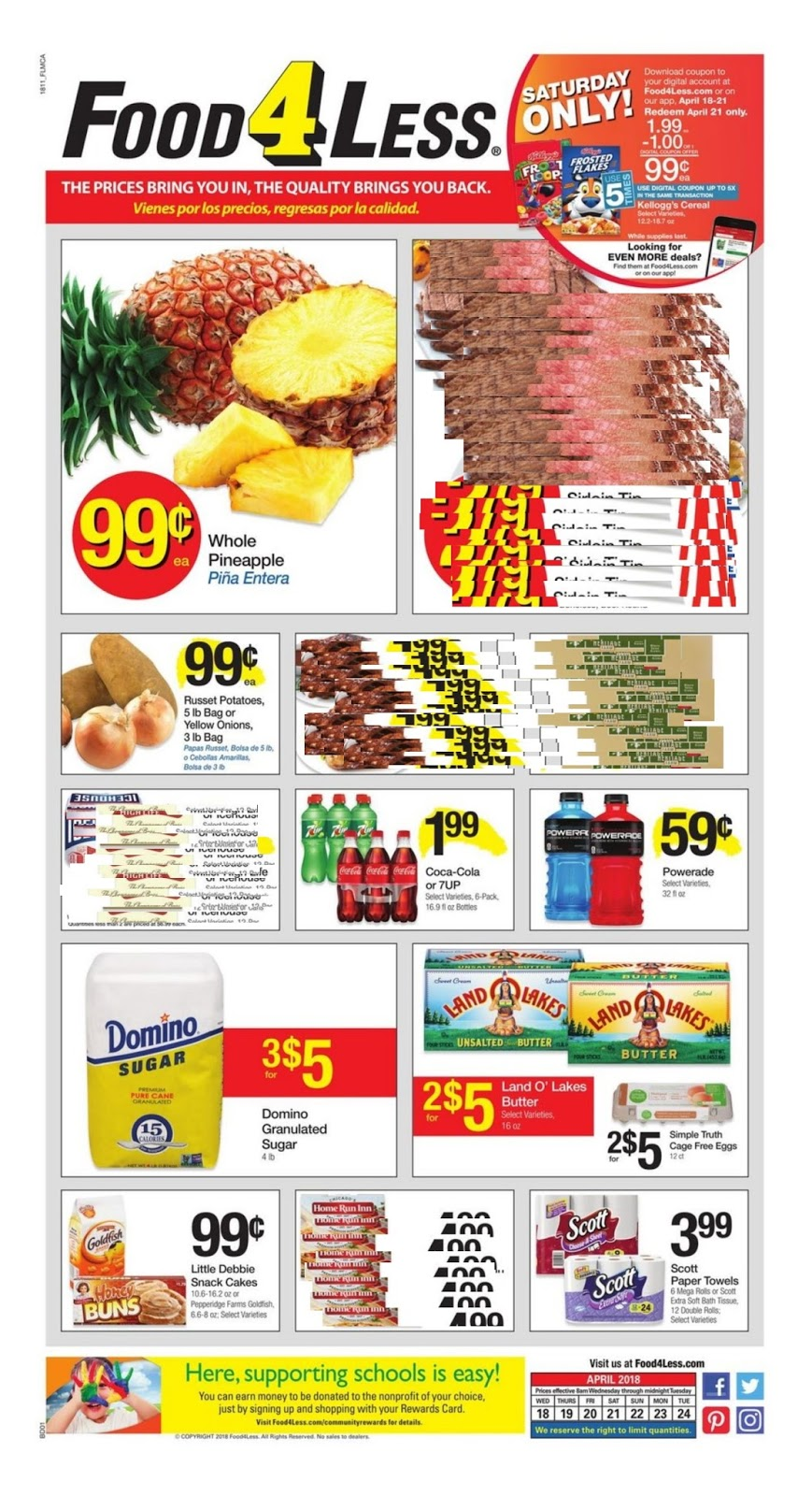 Food  Less Grocery Store Weekly Ad