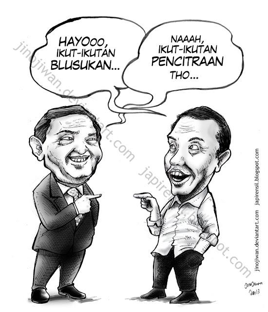 Jokowi blusukan