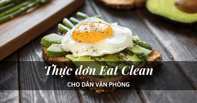 thuc don eat clean cho dan van phong