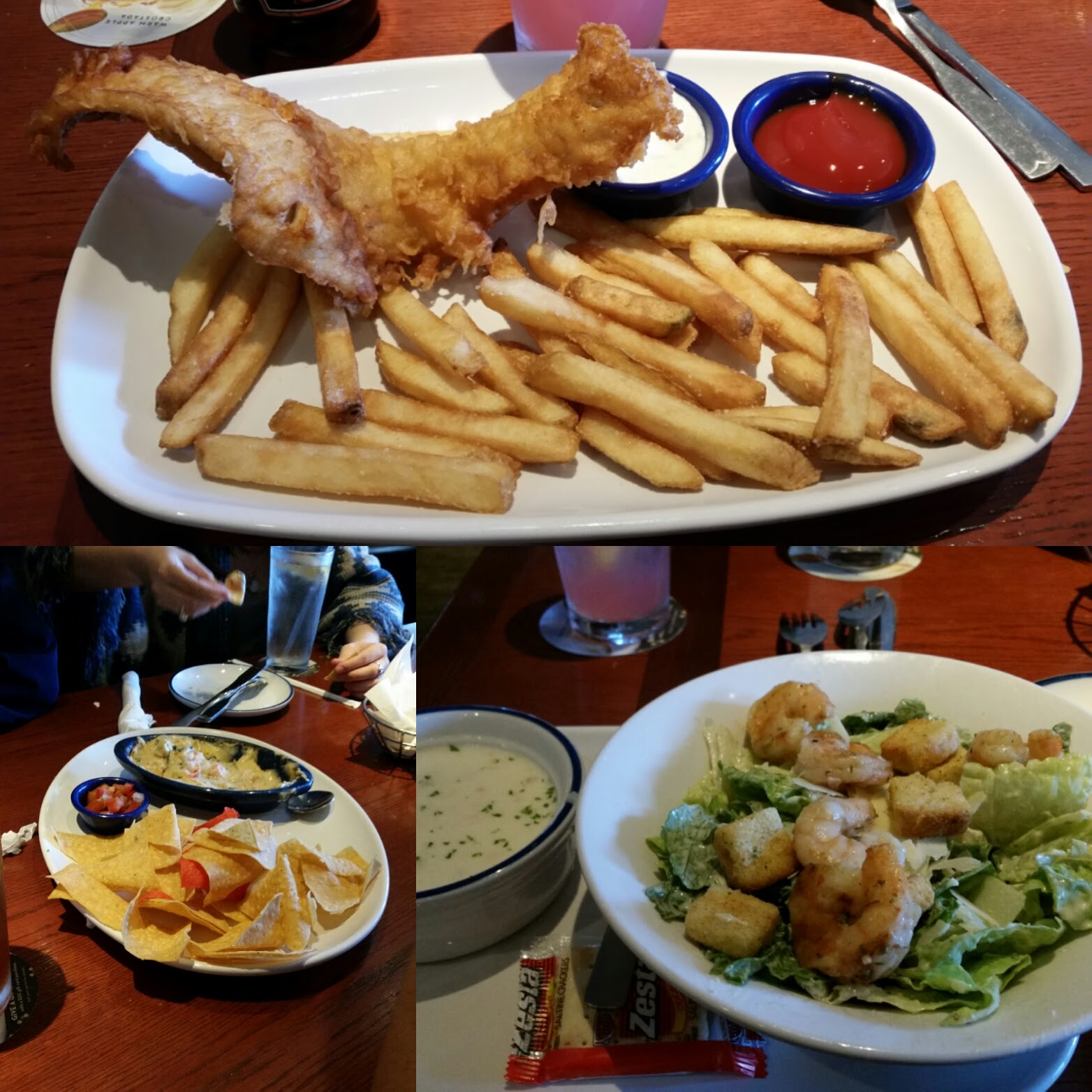 While you are dining red lobster for fish and chips for Red lobster fish and chips