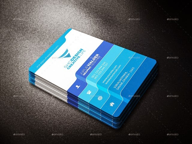 Colorful & Creative Business Card Template