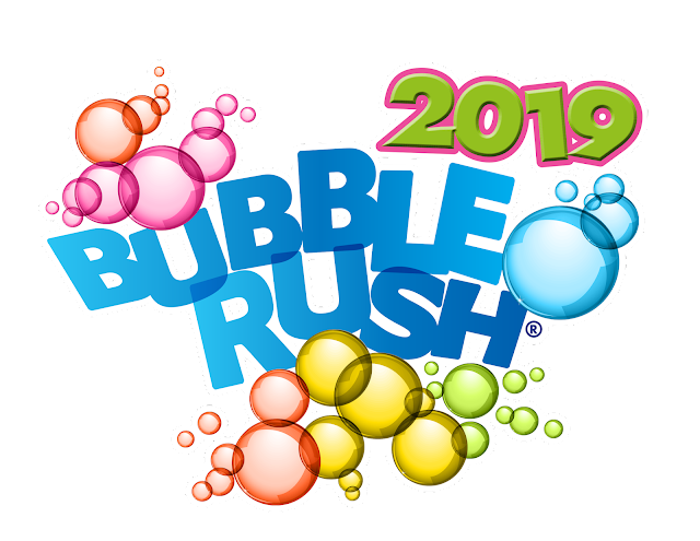East Lancashire Hospice Bubble Rush 2019