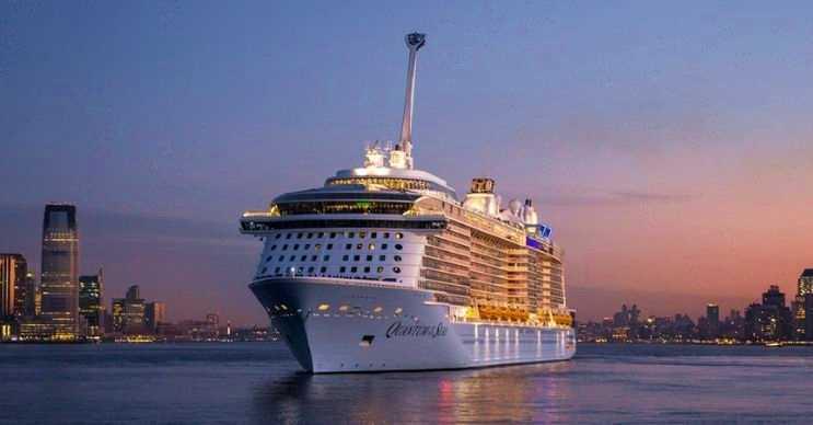 The Quantum The Seas yüzen bir şehir gibidir, içinde her türlü hizmet mevcuttur.