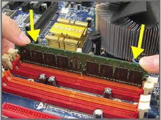 Pemasangan RAM