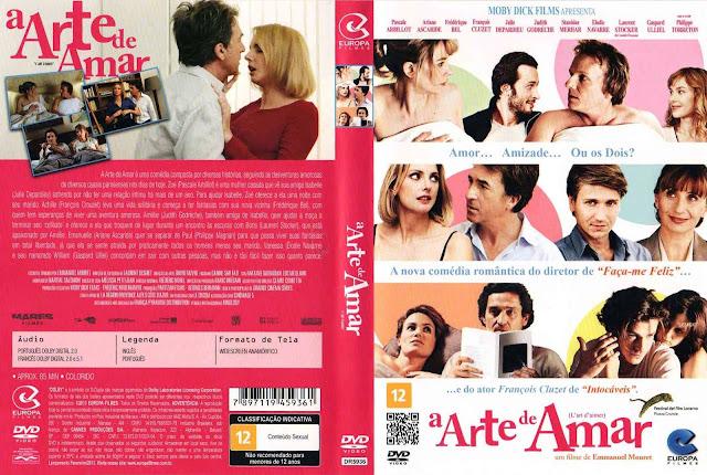 Capa DVD A Arte de Amar