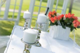 mesa de ceremonia de boda