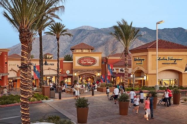 Outlets para comprar malas na Califórnia