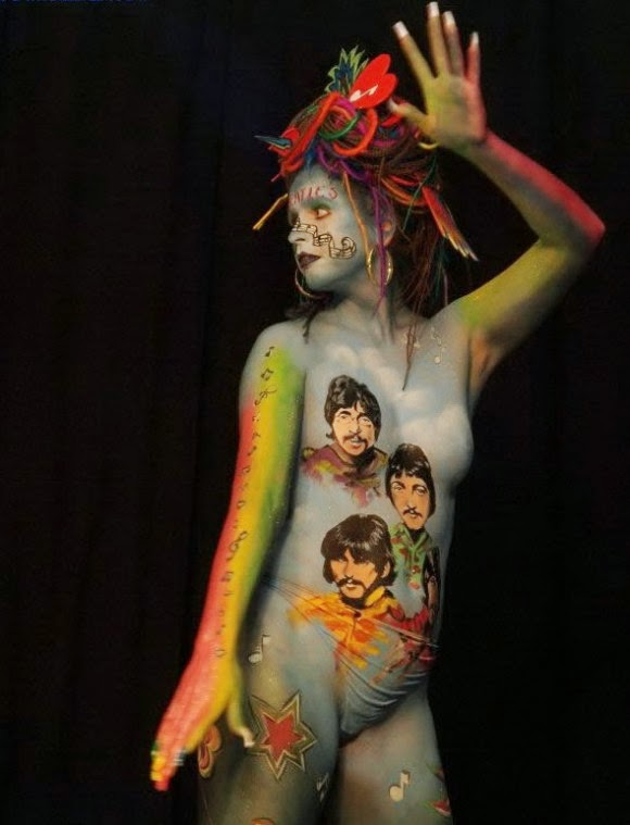 female body painting photos, full body painting-8