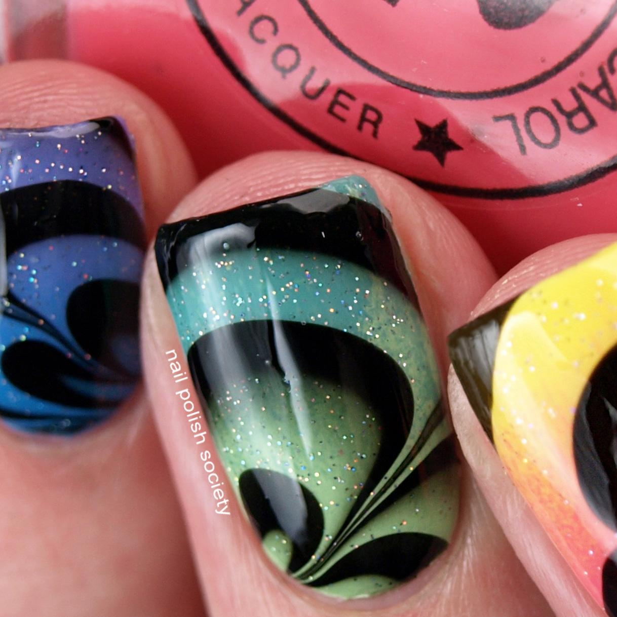 Nail Polish Society: Paint All The Nails Presents Marble