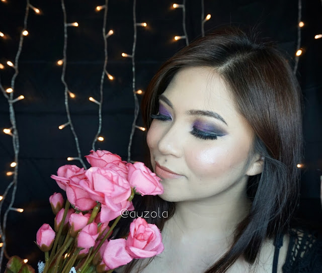 valentines makeup look