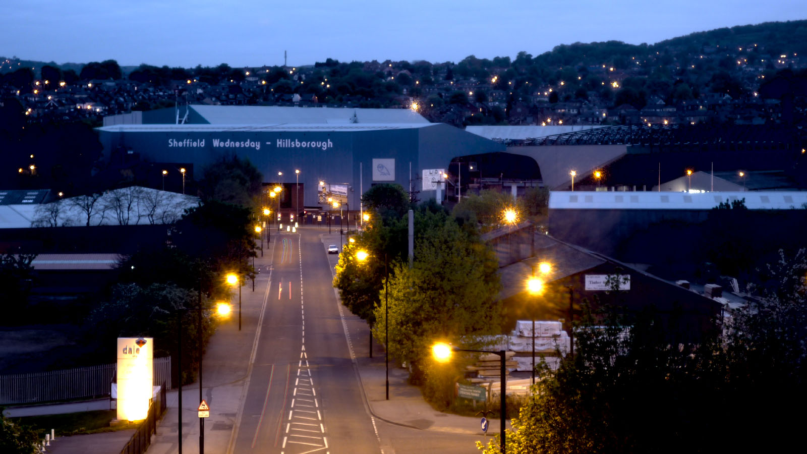 El Estadio de Hillsborough en una imagen actual