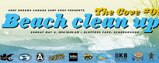Great Lakes Surf Adventures: The Cove Beach Clean Up #8