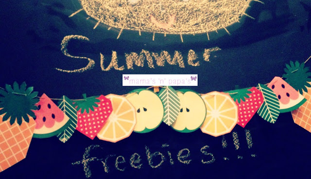freebies for summer