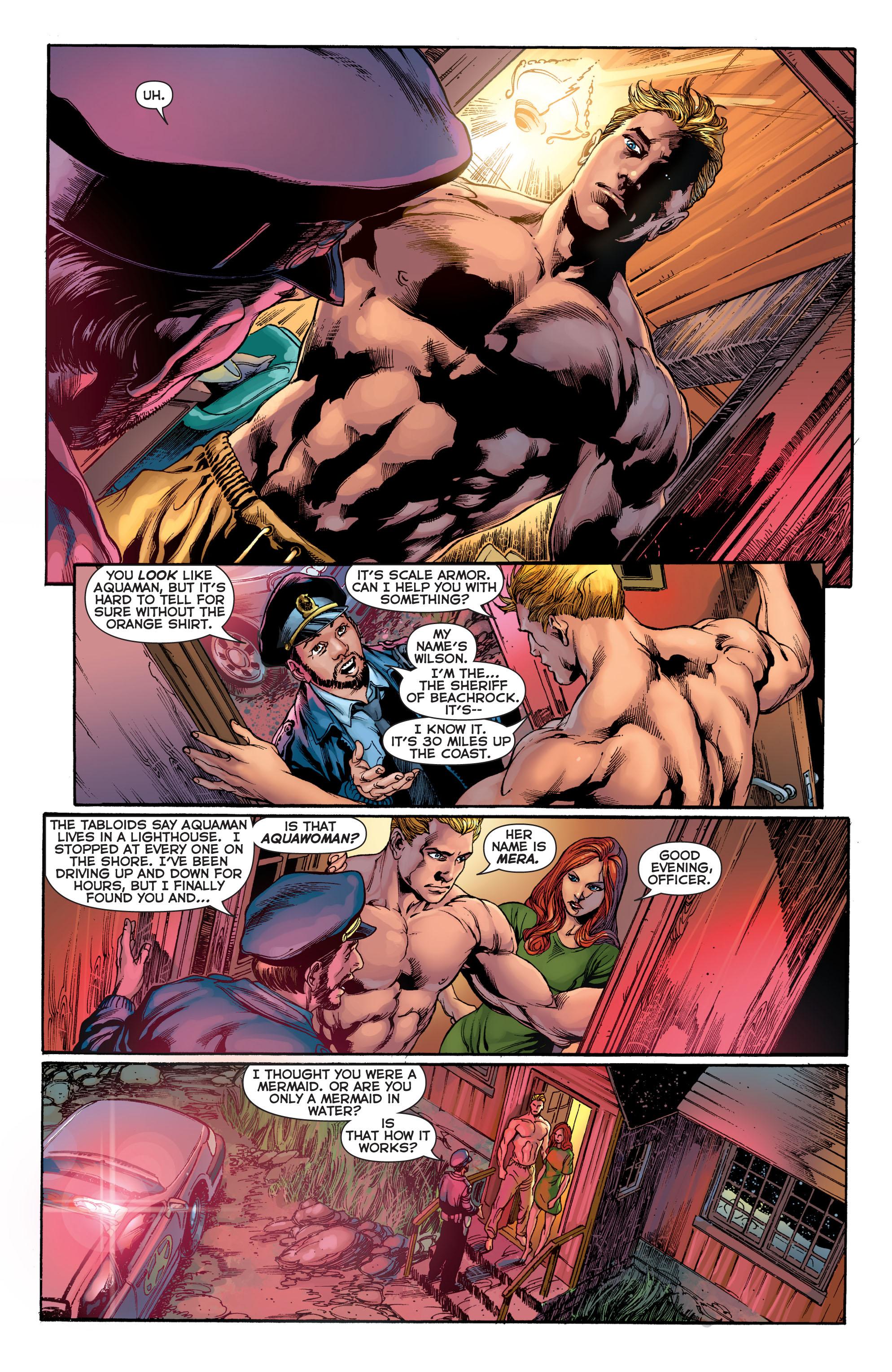 Read online Aquaman (2011) comic -  Issue #2 - 9