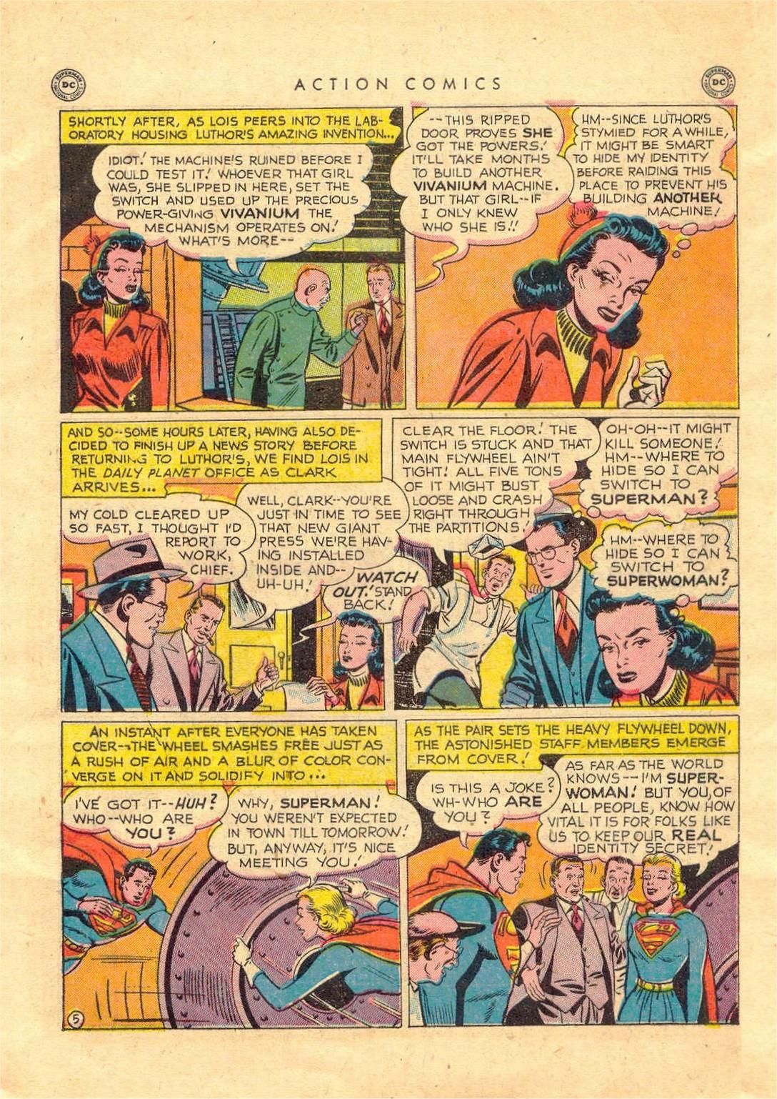 Action Comics (1938) 156 Page 5