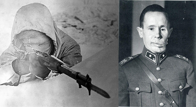 Today's Article - Simo Häyhä - Quizmaster Trivia: Drink ...