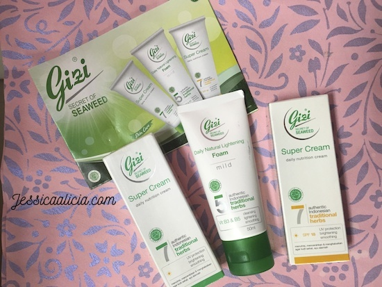 Review : Gizi Super Cream (NEW), Perawatan Kulit Wajah Alami by Jessica Alicia