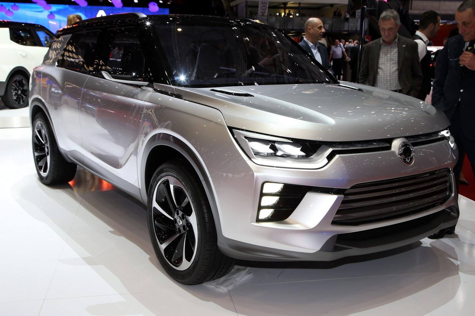 SsangYong SIV-2 Concept 2016 mang nhiều nét giống Ranger Rover