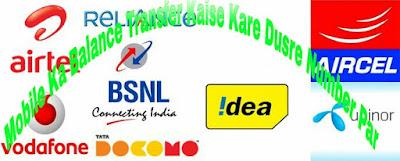 Mobile-Ka-Balance-Transfer-Kaise-Kare-Dusre-Number-Par