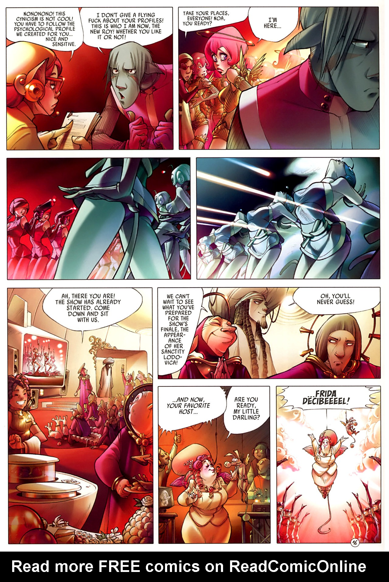 Read online Sky Doll comic -  Issue #3 - 20