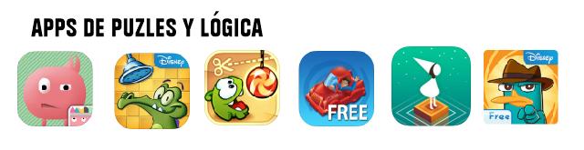 Mejores aplicaciones de puzles para niños 2016