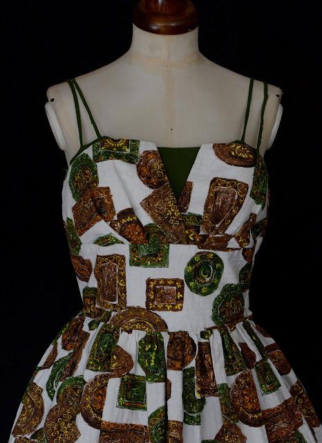 mid century modern dress
