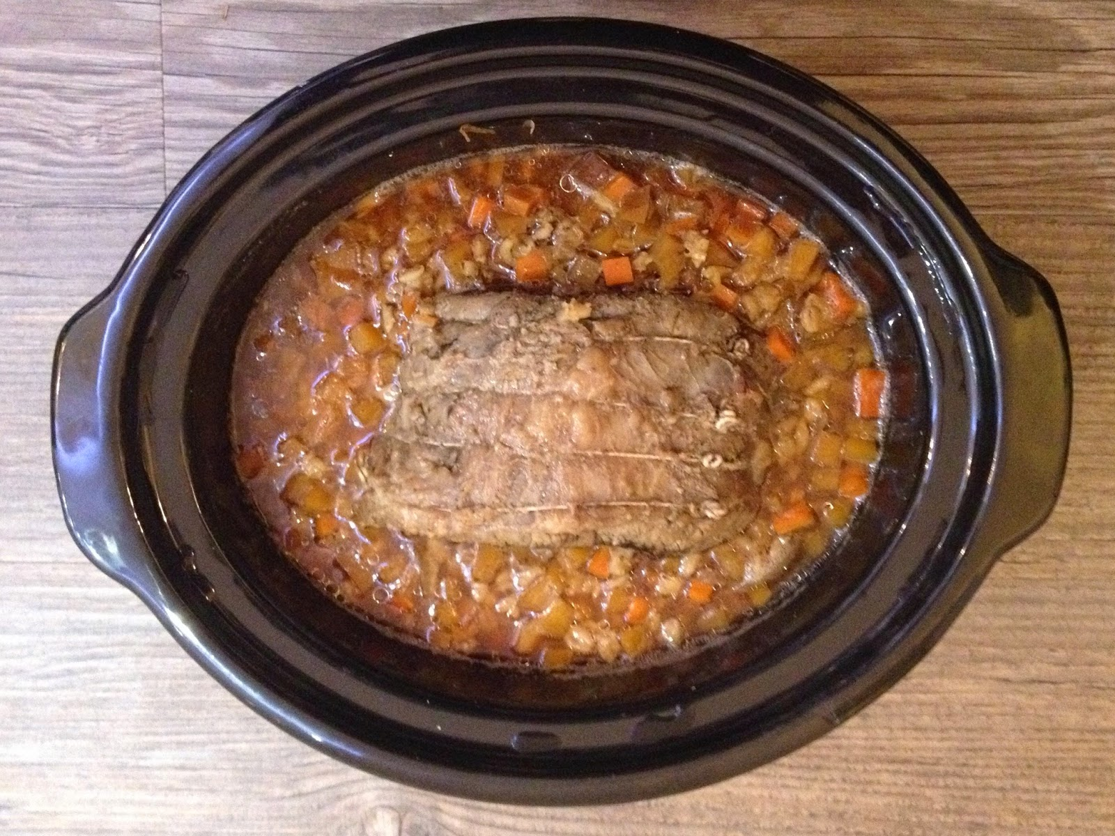 Slow Cooked Scotch Beef Brisket with Beer & Barley