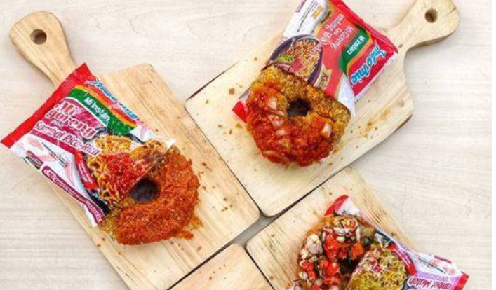 How to Make Donuts Indomie is being Viral