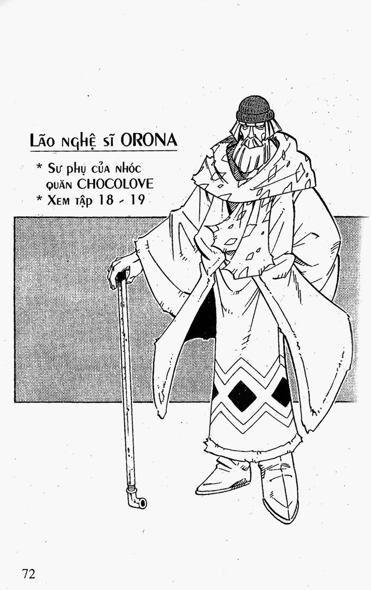 Shaman King [Vua pháp thuật] chap 200 trang 22